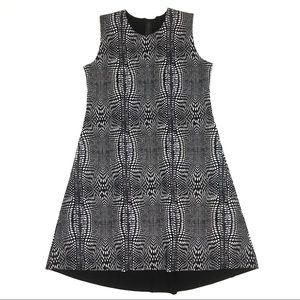 Norma Kamali neoprene snake print sheath dress